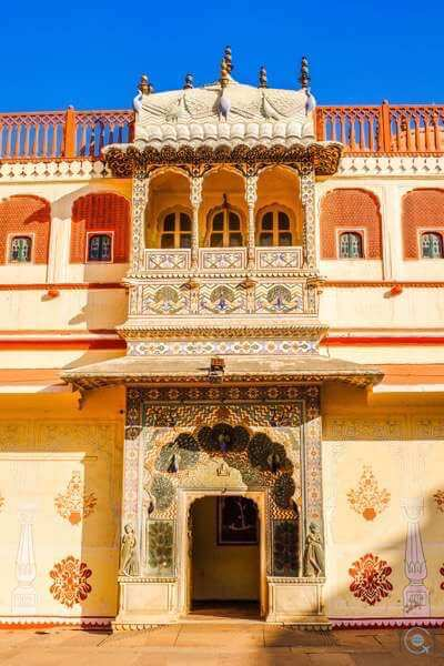 Jaipur itinerary - Peacock Gate
