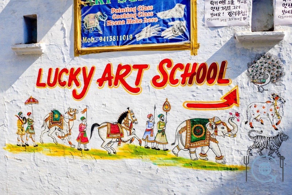 Udaipur Sightseeing Lucky Art School