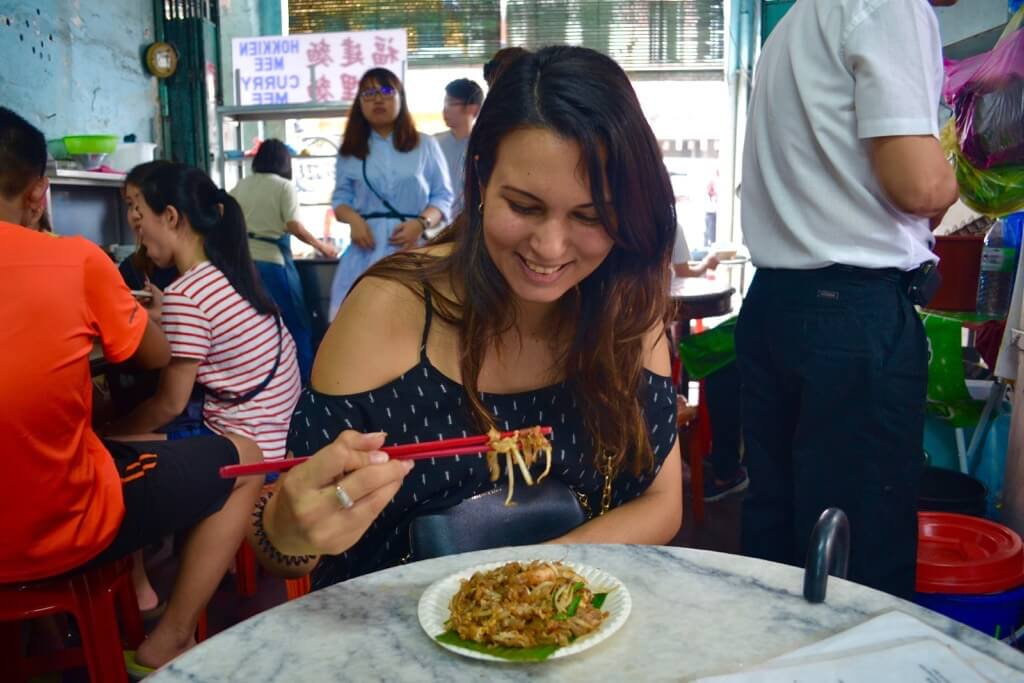 best street food in asia char kway teow