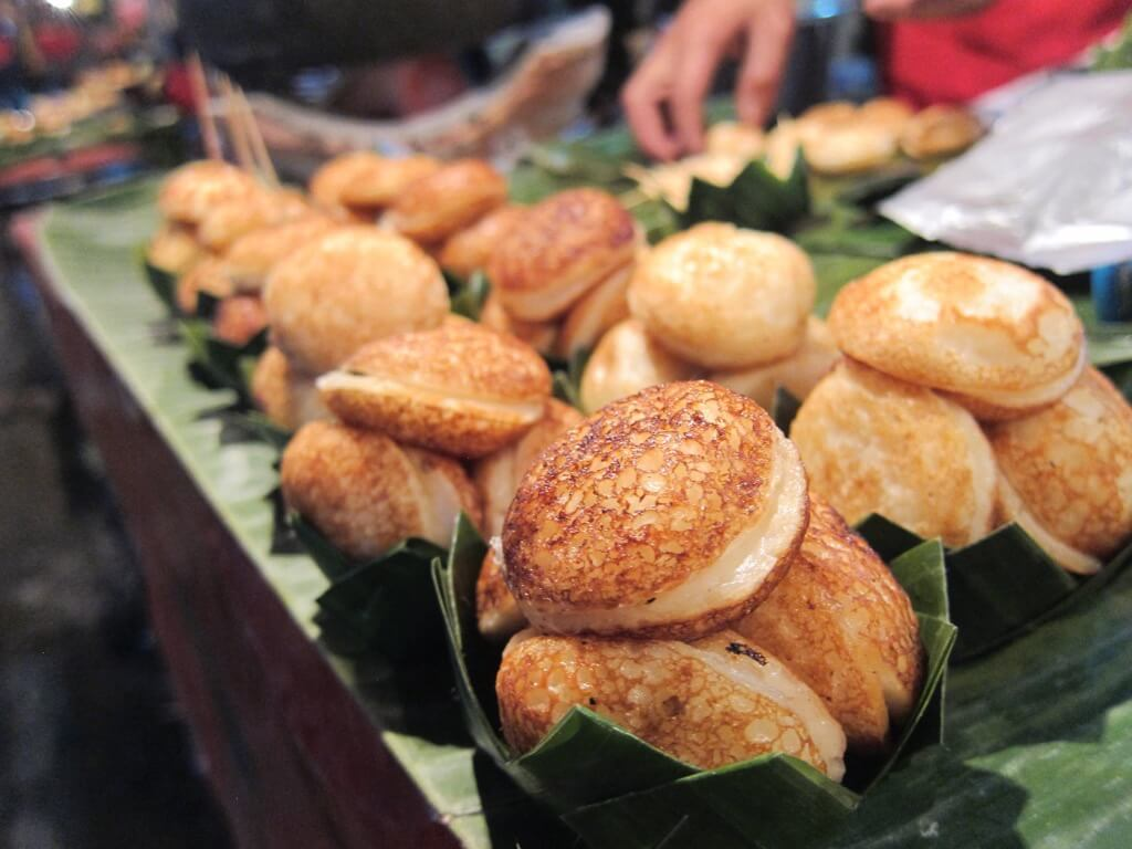 best street food in asia coconut cakes
