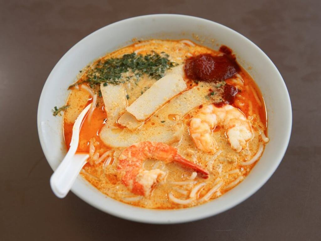 Best street food in Asia Katong Laksa