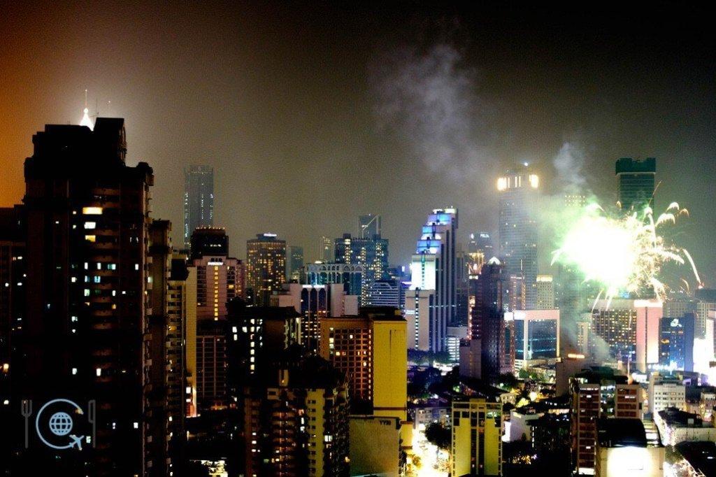 Kuala Lumpur Itinerary Bukit Bintang Fireworks