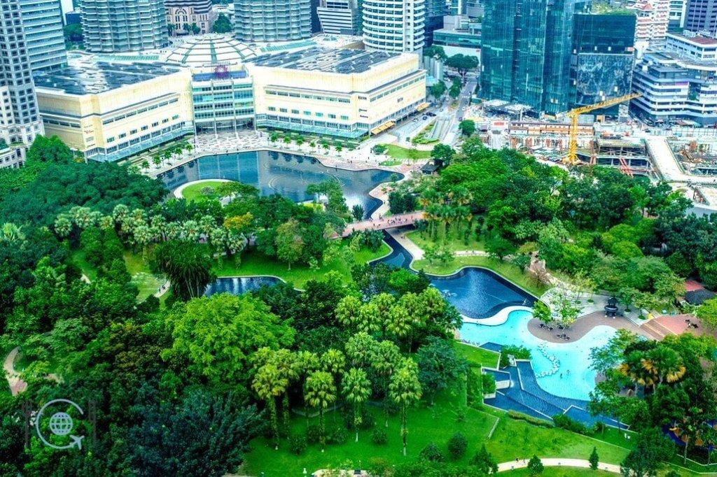 Kuala Lumpur Itinerary KLCC Park