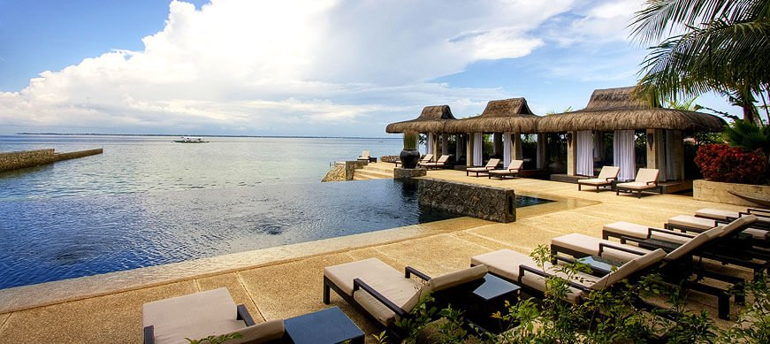 View from the Abaca Resort