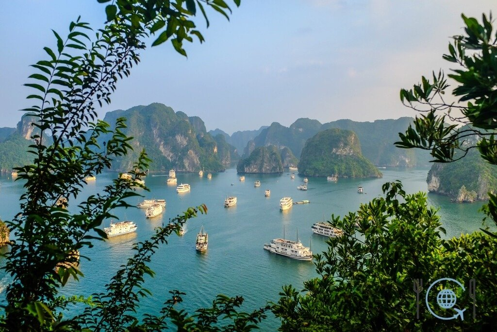 Vietnam 3 week itinerary Halong Bay 1