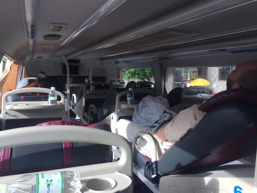 Vietnam 3 week itinerary bus