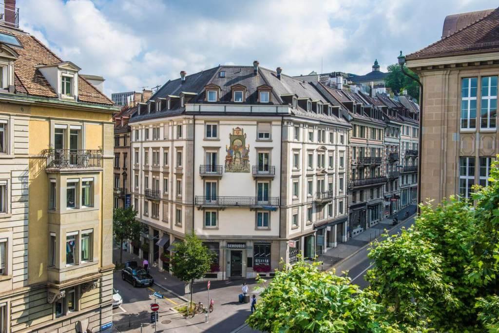 best places to stay in zurich hotel scheuble