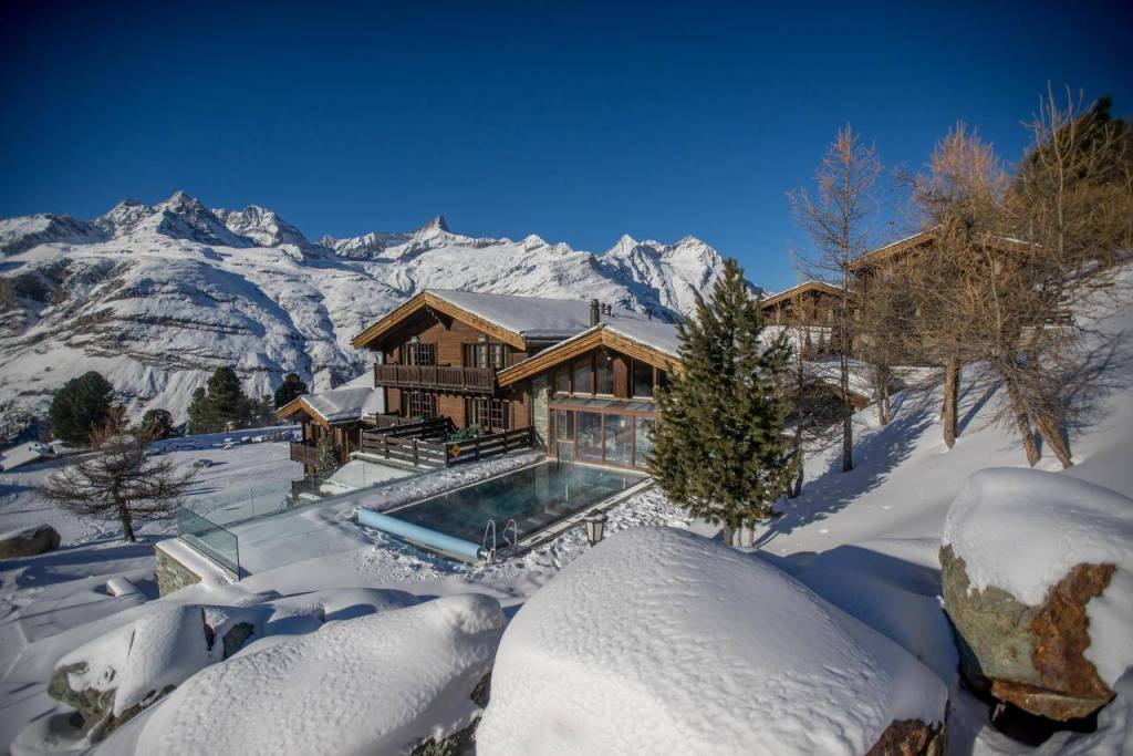 Things to do in Switzerland in winter - The Riffelalp Resort 2222m