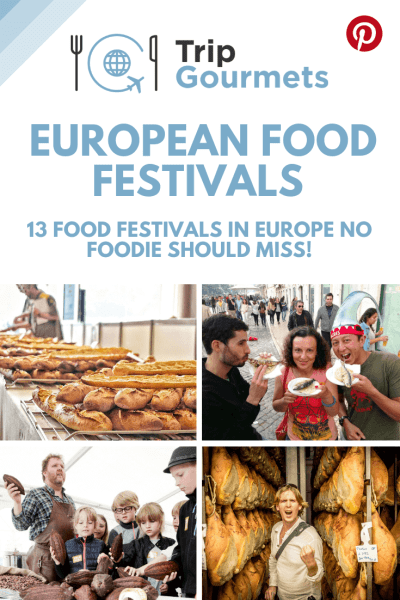 Food Festivals in Europe Pinterest