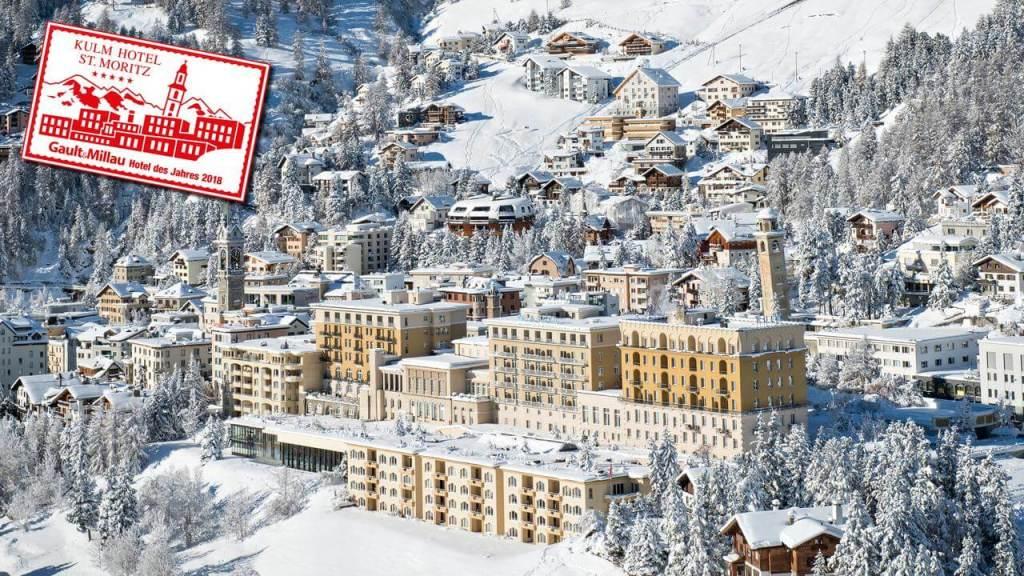 St Moritz Accommodation Kulm Hotel