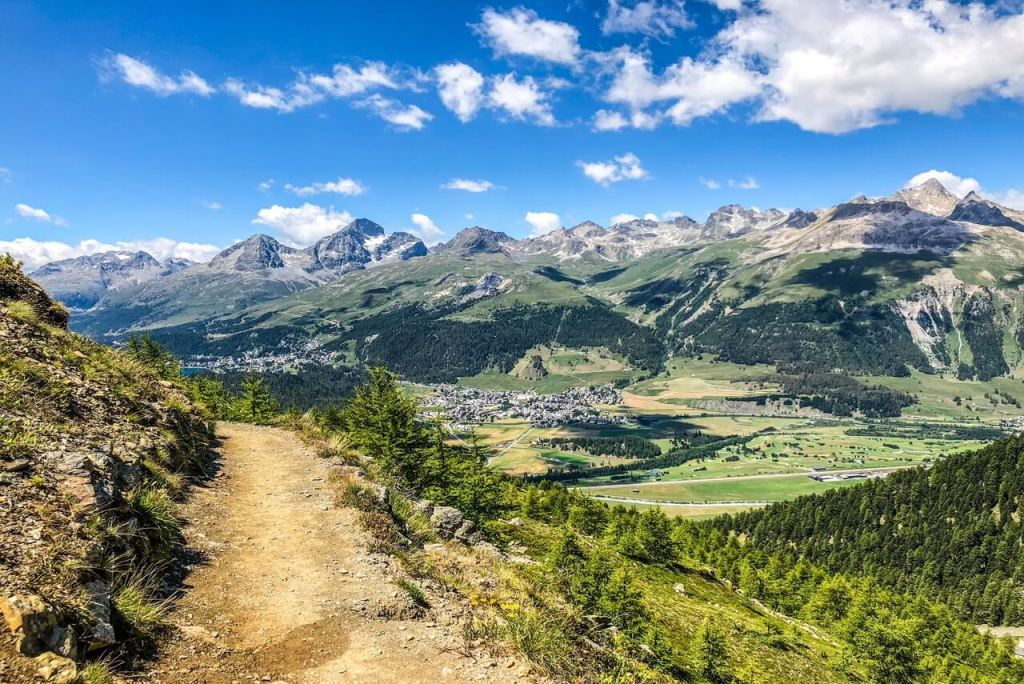 Things to do in St Moritz - Hiking