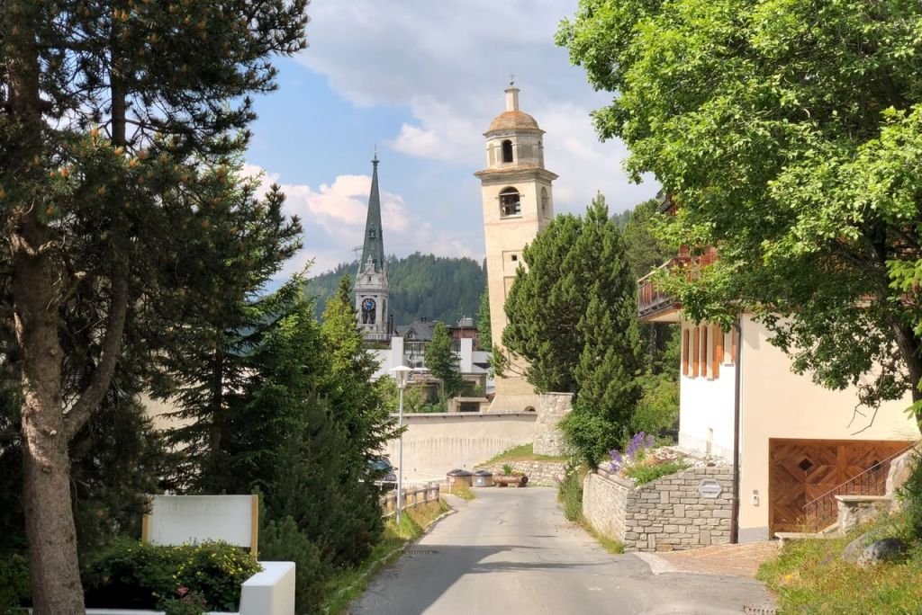 Things to do in St Moritz - Leaning Tower