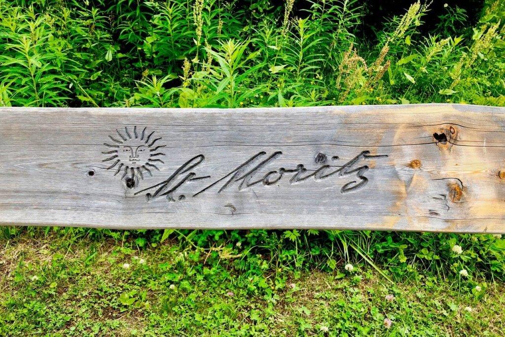 Things to do in St Moritz - St Moritz Bench