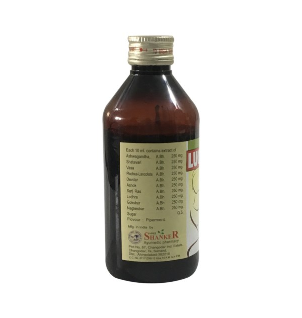 Lucocin Syrup For Excessive Bleeding and Abdominal Pain