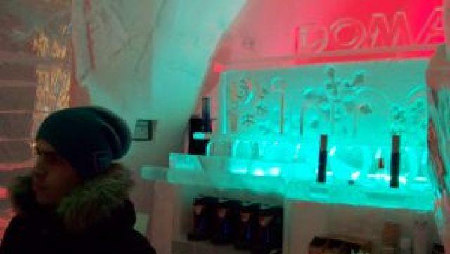 Bar Hotel de Hielo Quebec