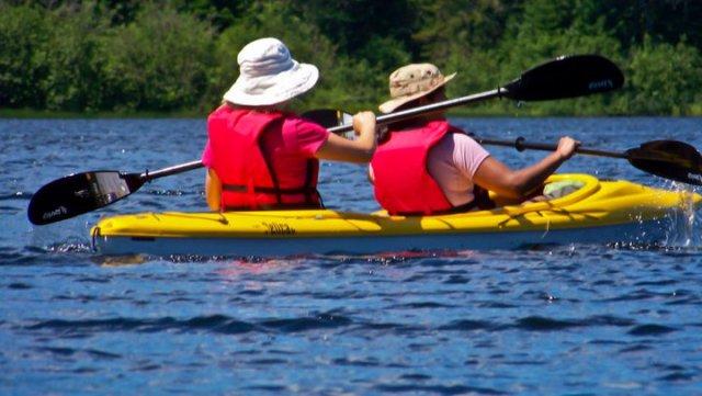 Experiencia en kayak Mauricie