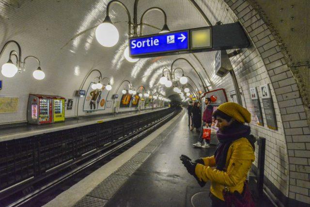 Estación de la Cité Metro París