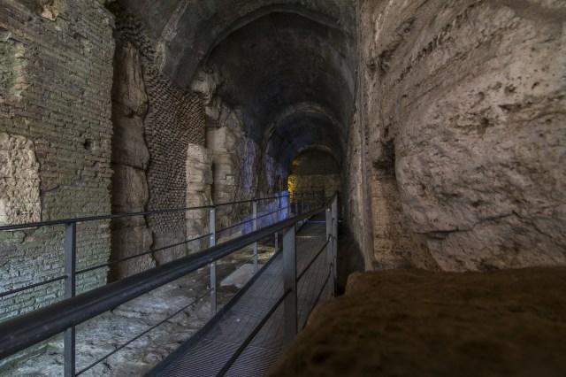 Zona de gladiadores Coliseo Romano