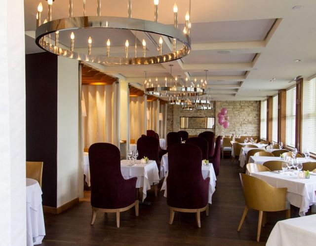 Restaurante de cena