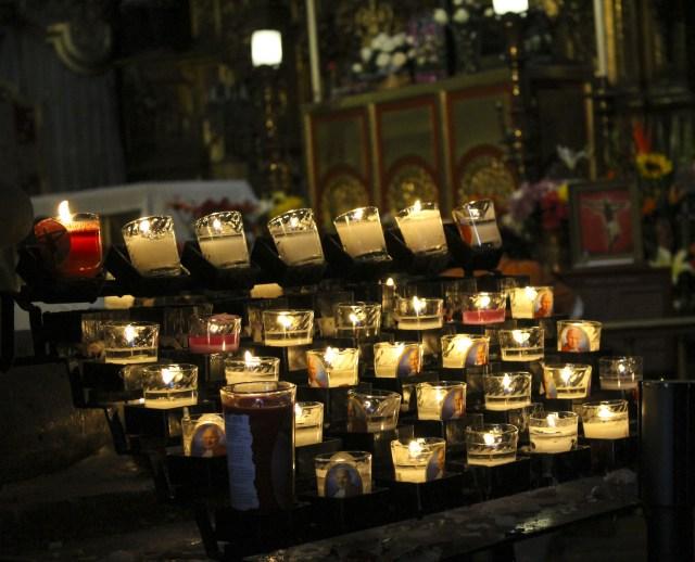 Fe en la catedral de Mexico