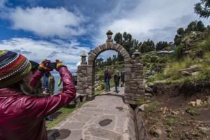 Arco Inca Taquile Puno