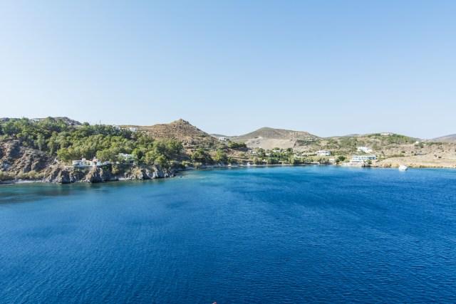 Playa Grikos Patmos Grecia