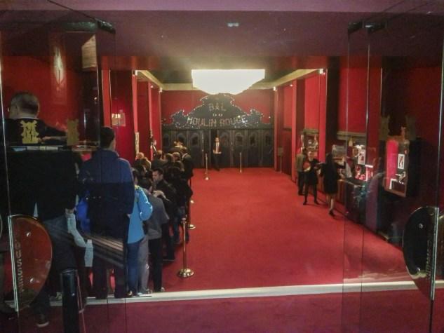 Puerta de entrada Moulin Rouge