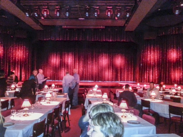 Escenario de Moulin Rouge