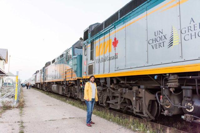 Parada del tren Canadian