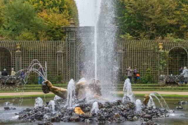 Pileta Palacio de Versalles