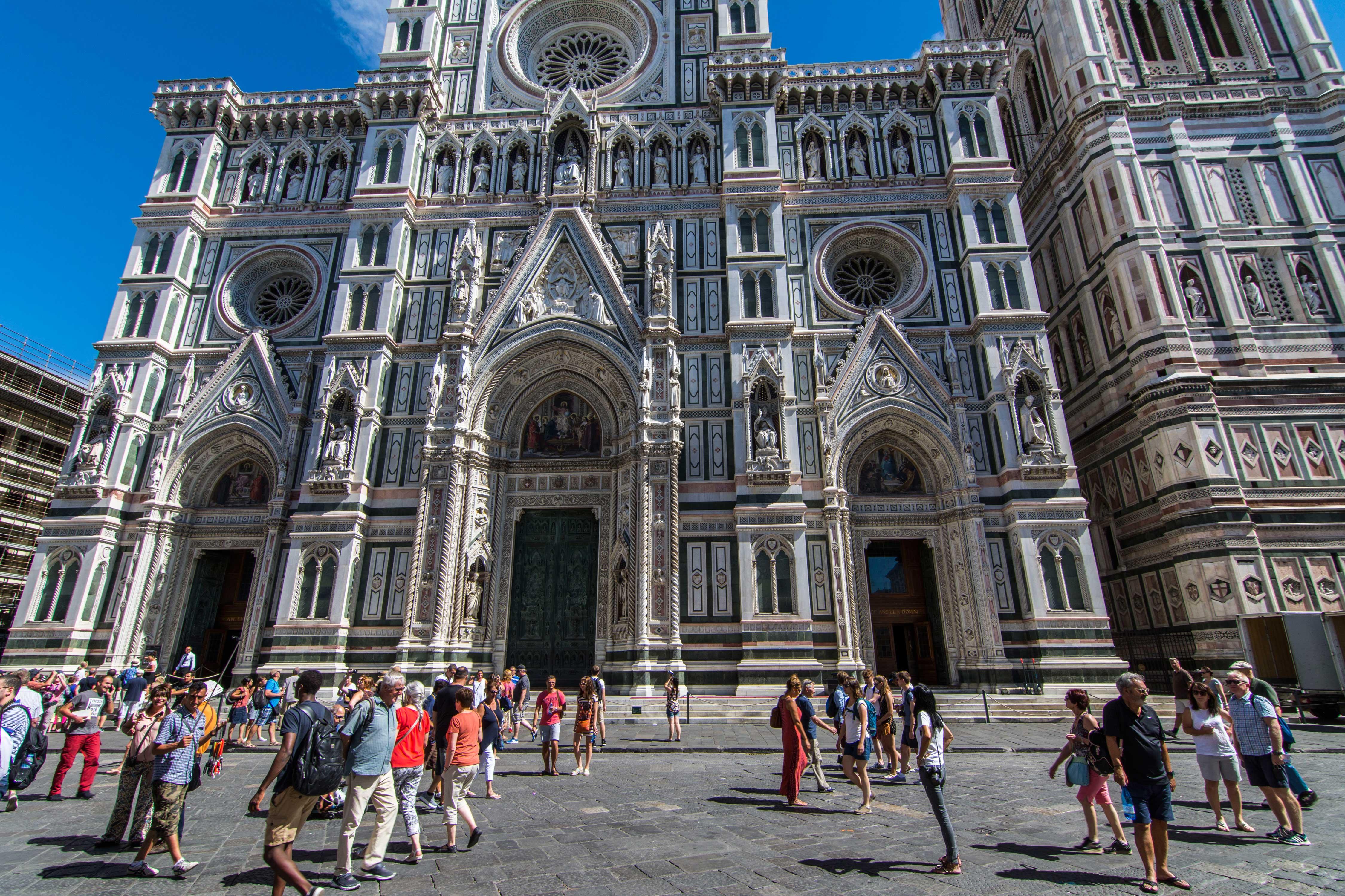 Fachada Catedral de Florencia