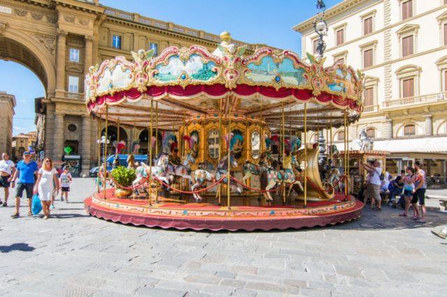 Carrusel en Florencia