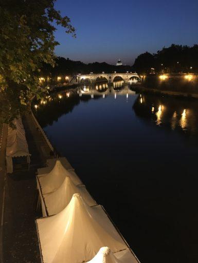 Puente Garibaldi y San Pedro Roma