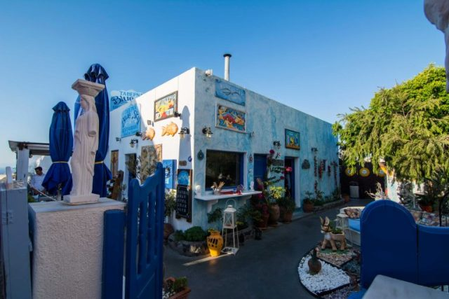 Casas pintorescas Oya Santorini