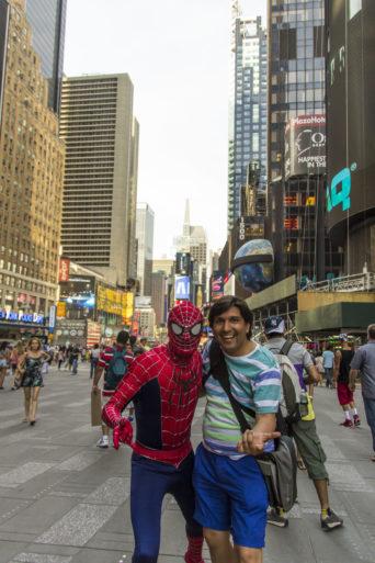 El hombre araña NY