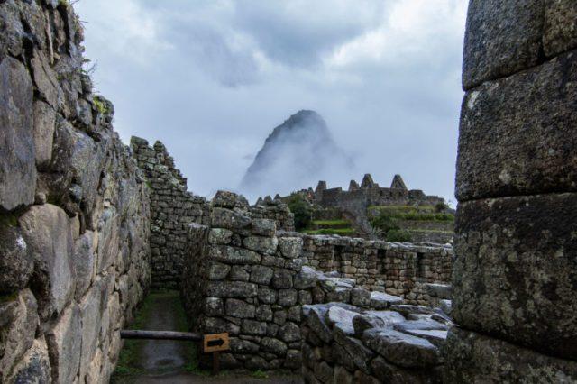 vista del Huayna Picchu