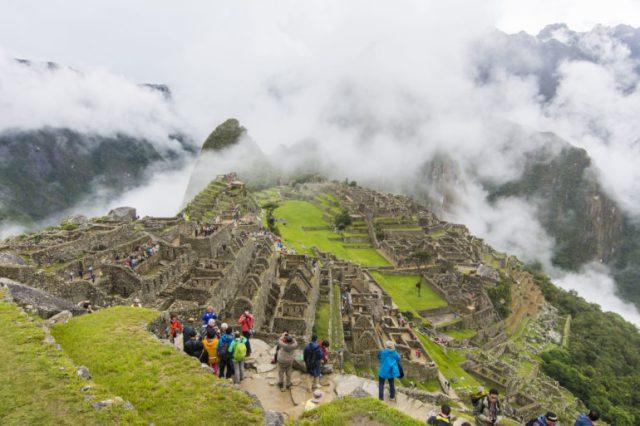 Machu Picchu vista clásica