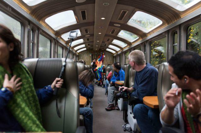 Perurail tren Cusco Aguas Calientes