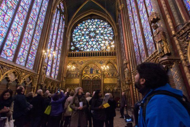 Rosedón Santa Capilla ParísRosedón Santa Capilla París