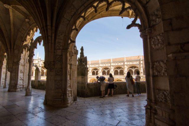 Columnas del Claustro Monasterio Jerónimos