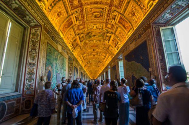 Galería de los Mapas Museos Vaticanos