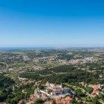 Vista de la ciudad de Sintra