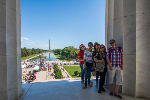 Paseando por Washington