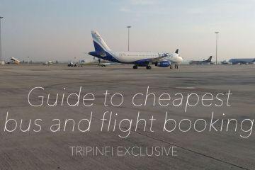 Guide to cheapest bus and flight booking
