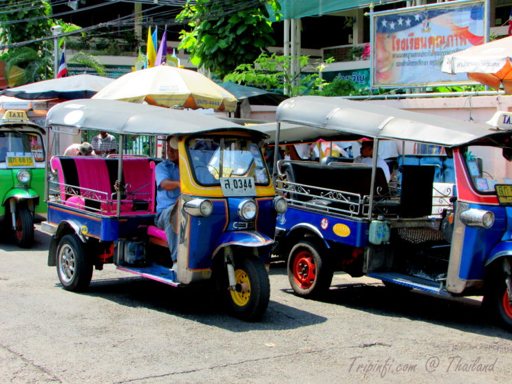 Tuk Tuk Ride in Bangkok (Krung Thep ), Thailand - Trip from India | Travelogue | Places to visit in Bangkok