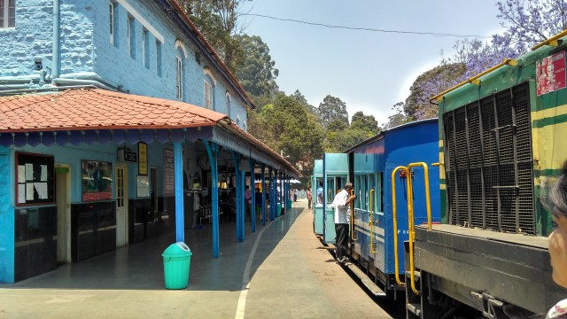 Ooty toy Train timings and fare