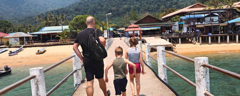 Visiting Tioman Island and Malaysia