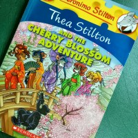 Japan and Cherry Blossoms Inspired Children's Graphic Novel by Geronimo Stilton