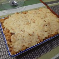 Cheesy Creamy Baked Mac