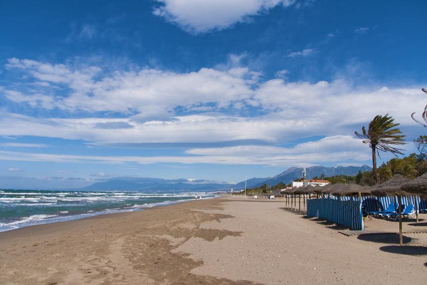 Real Zaragoza beach Marbella  Spain What to do and see
